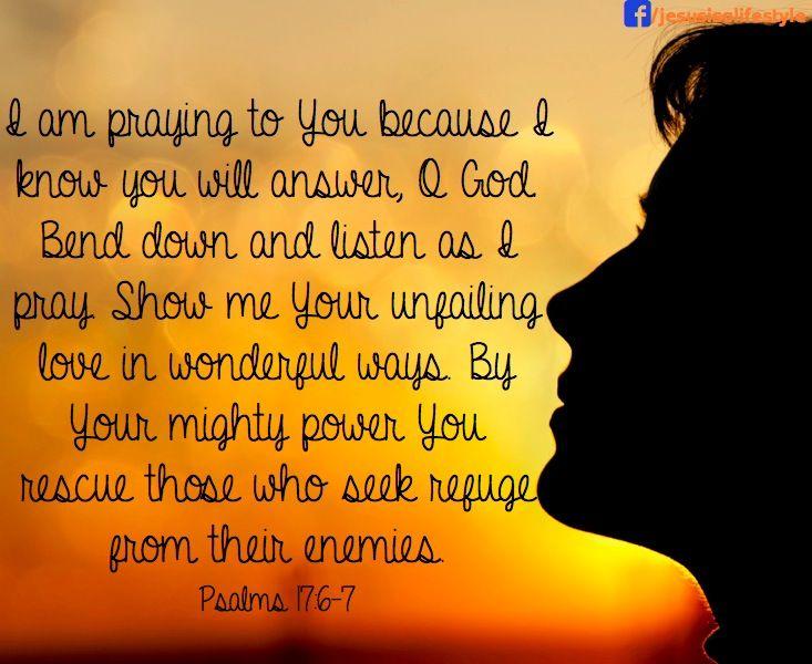 PRAYING TO YOU